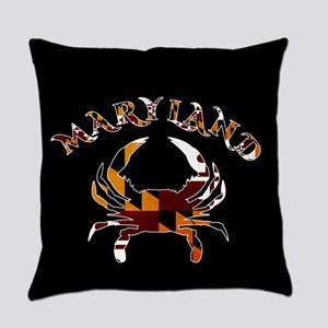 Maryland Crab Everyday Pillow